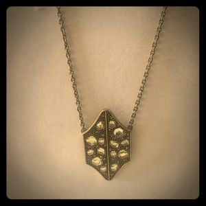 Rebecca minkoff antiqued metal necklace